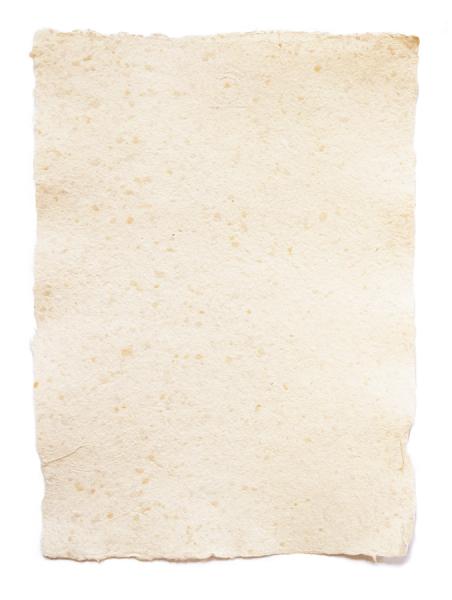 Das handgeschöpfte Papier ist ideal für alle kreativen Projekte.