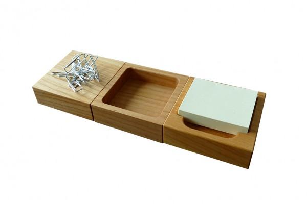 Schreibtisch-Organizer aus Holz | Kinder, edel