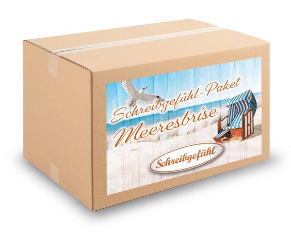 """Das Paket """"Meeresbrise MINI"""" liefert eine Basis-Ausstattung an sommerlichen Schreibwaren."""