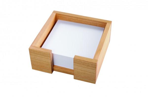 Zettelbox aus Kirschholz | Holz, Notizzettel