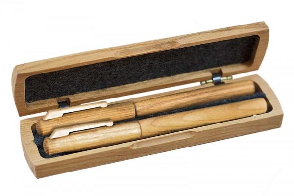Schreibset aus Kirschholz | edel, Holz | Innenansicht