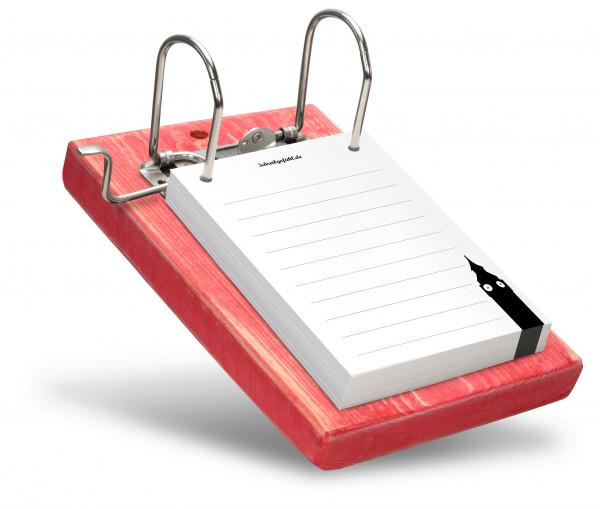 Die Notizzettel können ganz einfach einzeln entnommen werden.