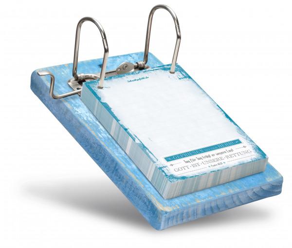 Die Füllmenge der Zettel kann frei variiert werden.