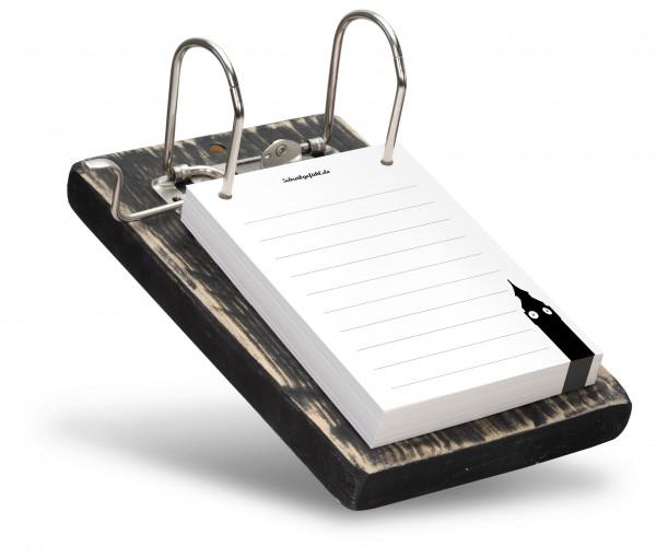 Auf den dünnen Linien ist Platz für persönliche Notizen und Anmerkungen.