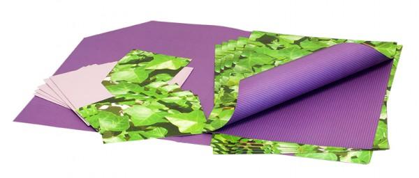 Geschenkpapier-Set III | Geschenkverpackungs-Set | Innenansicht