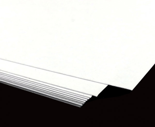 Blanko-Papierbogen weiß DIN A2 | 25 Bogen mattgestrichen, 170 gr.