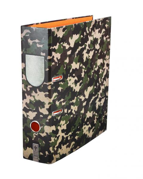 Das beliebte Flecktarn-Muster von Jagd- und Bundeswehrbekleidung gibt es jetzt auch für den Arbeitsplatz.