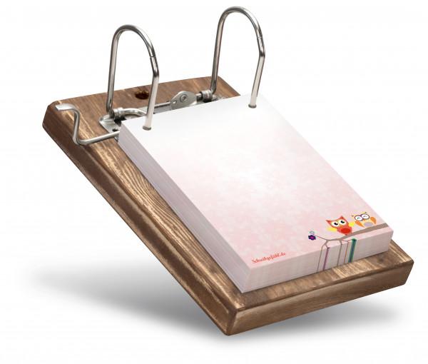 Sechs verschiedenen Farben sind für das Holzbrett möglich.