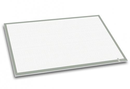 Schreibunterlage Papier weiß kariert Wochenübersicht 20 Blatt 40x60cm 40 x 60 cm
